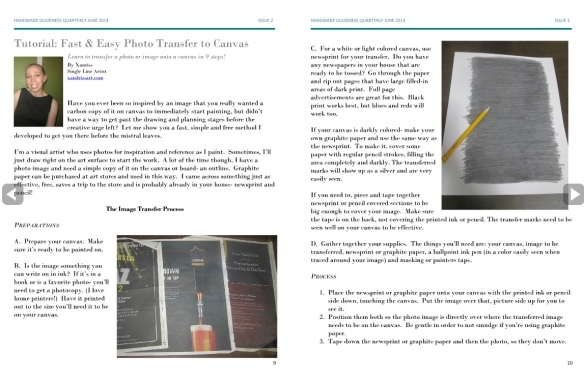 HGQ mag photo transfer tutorial 1
